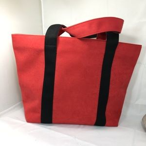 Michael Kors Tote ultra suede red